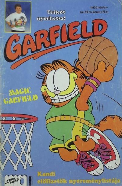 Jim Davis - Garfield 1993/3 március