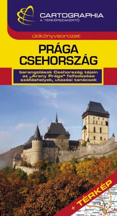 Horváth Tibor - Prága, Csehország útikönyv