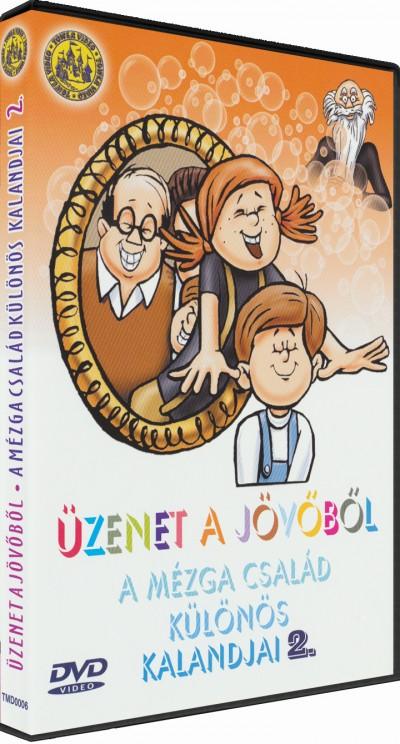 Nepp József - Szemenyei András - Ternovszky Béla - Üzenet a jövőből - A Mézga család különös kalandjai 2. - DVD