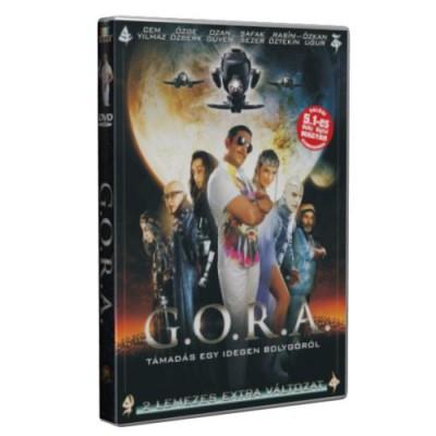 Faruk Ömer Sorak - G.O.R.A. -  Támadás egy idegen bolygóról - DVD
