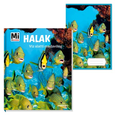 Nicolai Schirawski - Halak - Víz alatti csodavilág + ajándék füzet