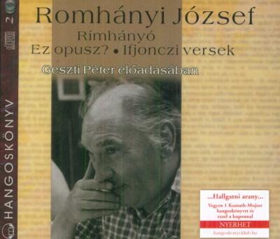 Romhányi József - Geszti Péter - Rímhányó - Hangoskönyv