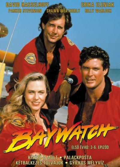 Scott Brazil - Mario Dileo - Kim Manners - Baywatch: Első évad - 3-6. - DVD