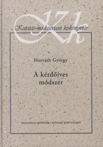 Horváth György - A kérdőíves módszer