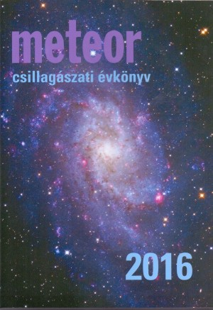 - Meteor csillag�szati �vk�nyv 2016