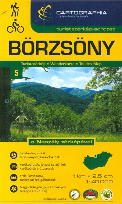 - Börzsöny turistatérkép - 1:40 000