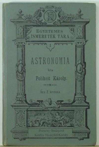 Polikeit Károly - Astronomia