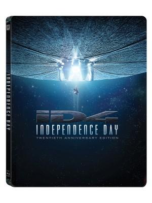 Roland Emmerich - A f�ggetlens�g napja - 20 �ves jubileumi kiad�s - Steelbook - 2 Blu-ray