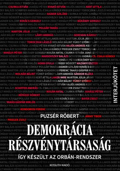 Puzsér Róbert - Demokrácia Részvénytársaság