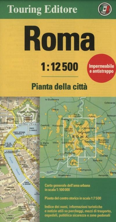 - Róma várostérkép - 1:12 500