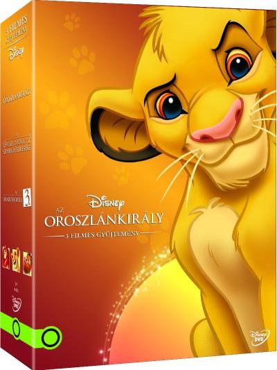 Rajzfilmfigurák - Oroszlánkirály díszdoboz (2015) - DVD