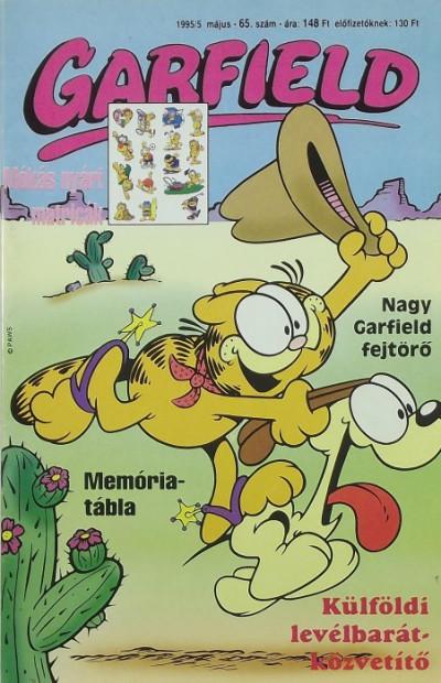 Jim Davis - Garfield 1995/5 május 65. szám