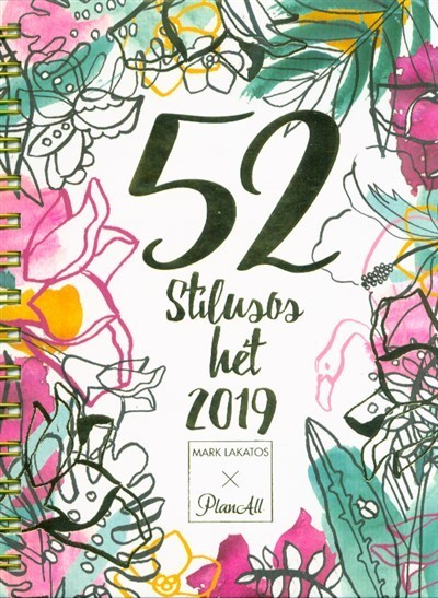 - 52 stílusos hét + Stílustréning Lakatos Márktól 2019 (fehér)