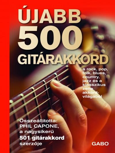 Phil Capone  (Összeáll.) - Újabb 500 gitárakkord