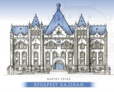 Bartos Erika - Budapest rajzban