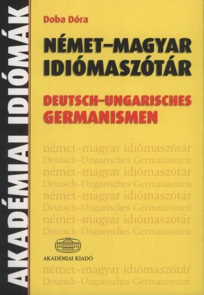 Doba Dóra - Német - magyar idiómaszótár