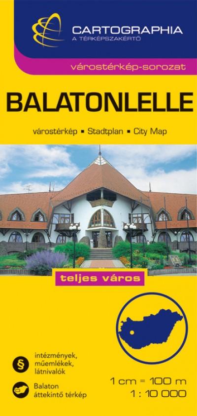 - Balatonlelle várostérkép