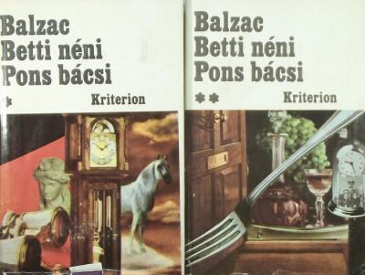 Honoré De Balzac - Betti néni - Pons bácsi I-II.
