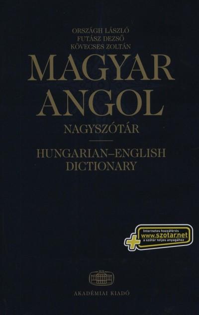 Futász Dezső - Kövecses Zoltán - Országh László - Magyar-angol nagyszótár + net