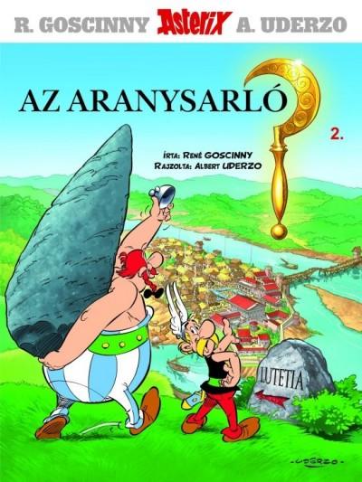 Ren� Goscinny - Asterix 2 - Az aranysarl�