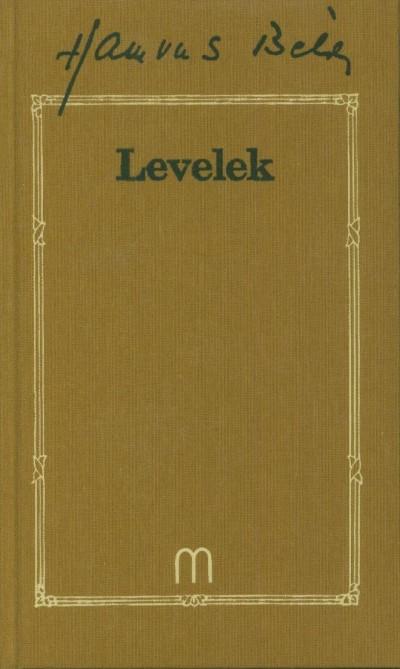 Hamvas Béla - Levelek - 1916-1968