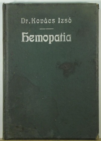Dr. Kovács Izsó - Hemopatia