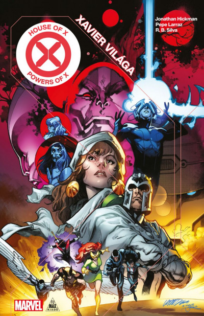 Jonathan Hickman - X-Men - Xavier világa / X hatványai
