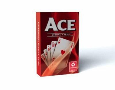 - Ace szimpla bridge kártya - Piros