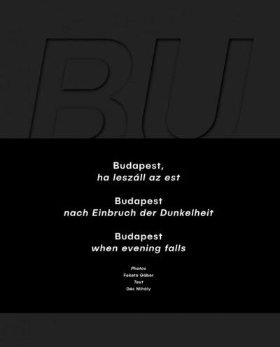 Dés Mihály - Budapest, ha leszáll az est