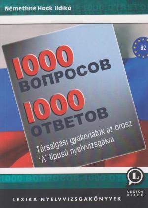 N�methn� Hock Ildik� - 1000 k�rd�s 1000 v�lasz - Orosz