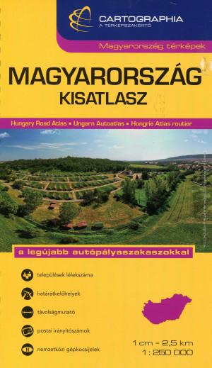 """Szalamonidesz S�ndor (Szerk.) - Szigeti Borb�la (Szerk.) - Magyarorsz�g kisatlasz 1:250 000 """"""""SC"""""""""""
