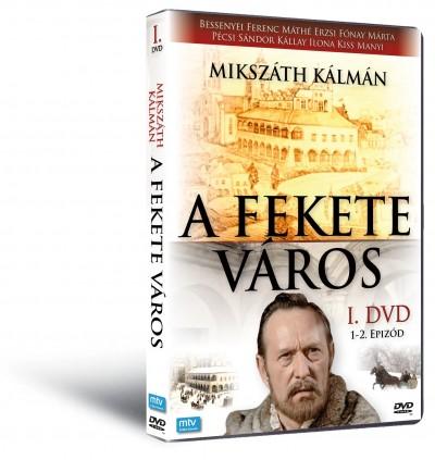 Mikszáth Kálmán - Zsurzs Éva - A fekete város I. - 1-2. epizód - DVD