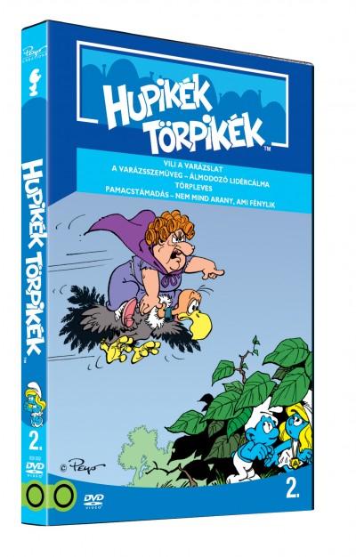 Rajzfilmfigurák - Hupikék Törpikék - A sorozat 2. rész - DVD