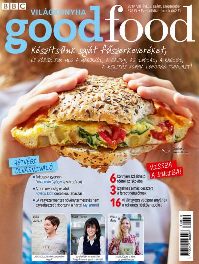 Szemere Katalin  (Szerk.) - Good Food VIII. évfolyam 9. szám - 2019. szeptember - Világkonyha