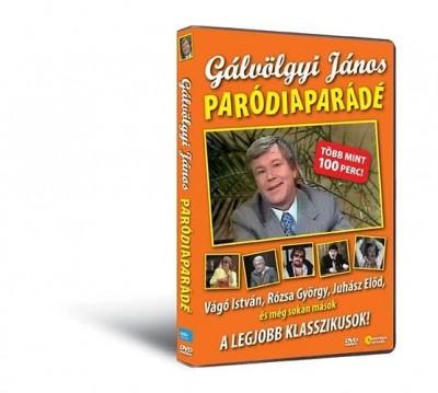 - Gálvölgyi János: Paródiaparádé - DVD
