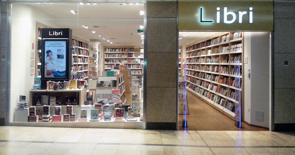 Árkád Könyvesbolt aluljárószint